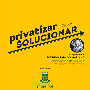 Instituto Tropeiros Evento Privatização